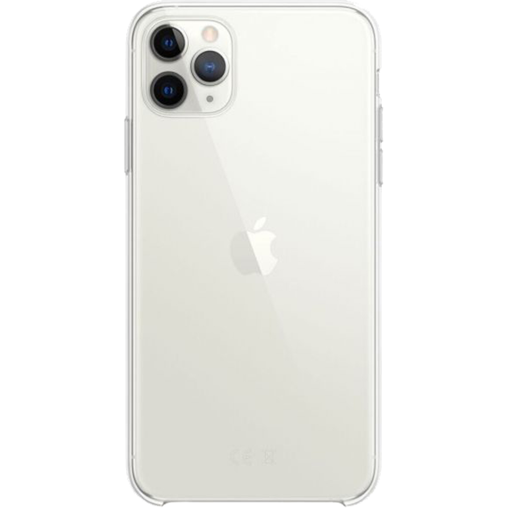 Husa originala din Silicon transparent pentru Apple iPhone 11 Pro