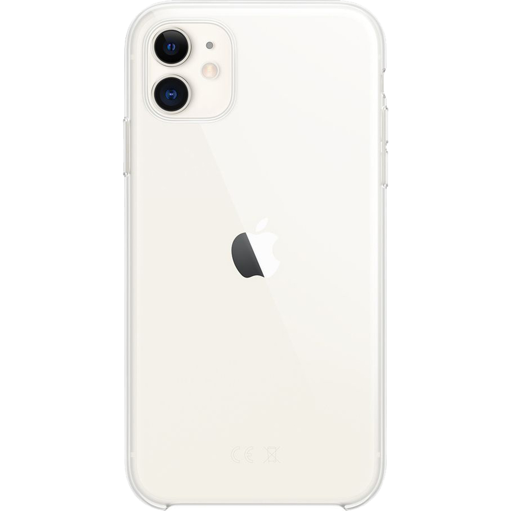 Husa originala din Silicon transparent pentru Apple iPhone 11