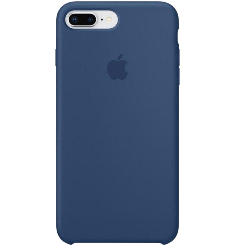 Husa originala din Silicon Cobalt Albastru pentru APPLE iPhone 7 Pus si  iPhone 8 Plus