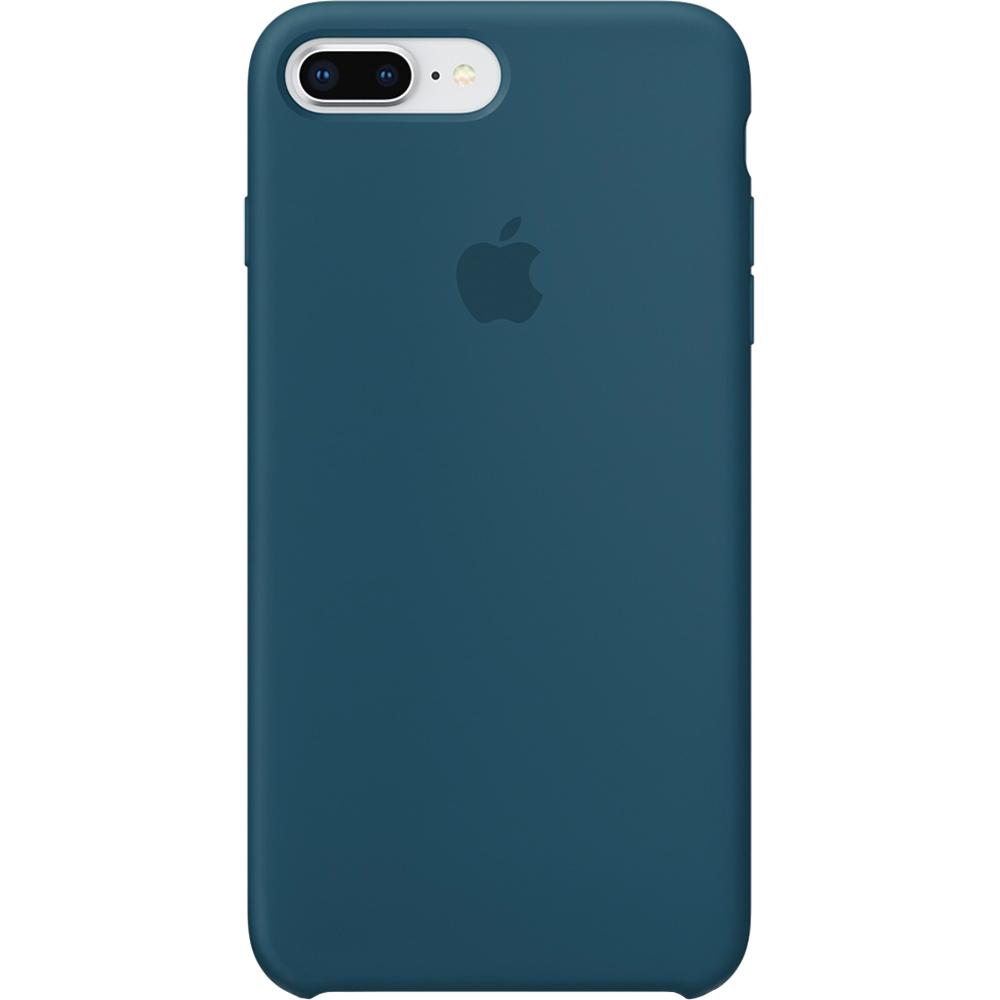 Husa Capac Spate Silicon Cosmos Albastru APPLE iPhone 8 Plus