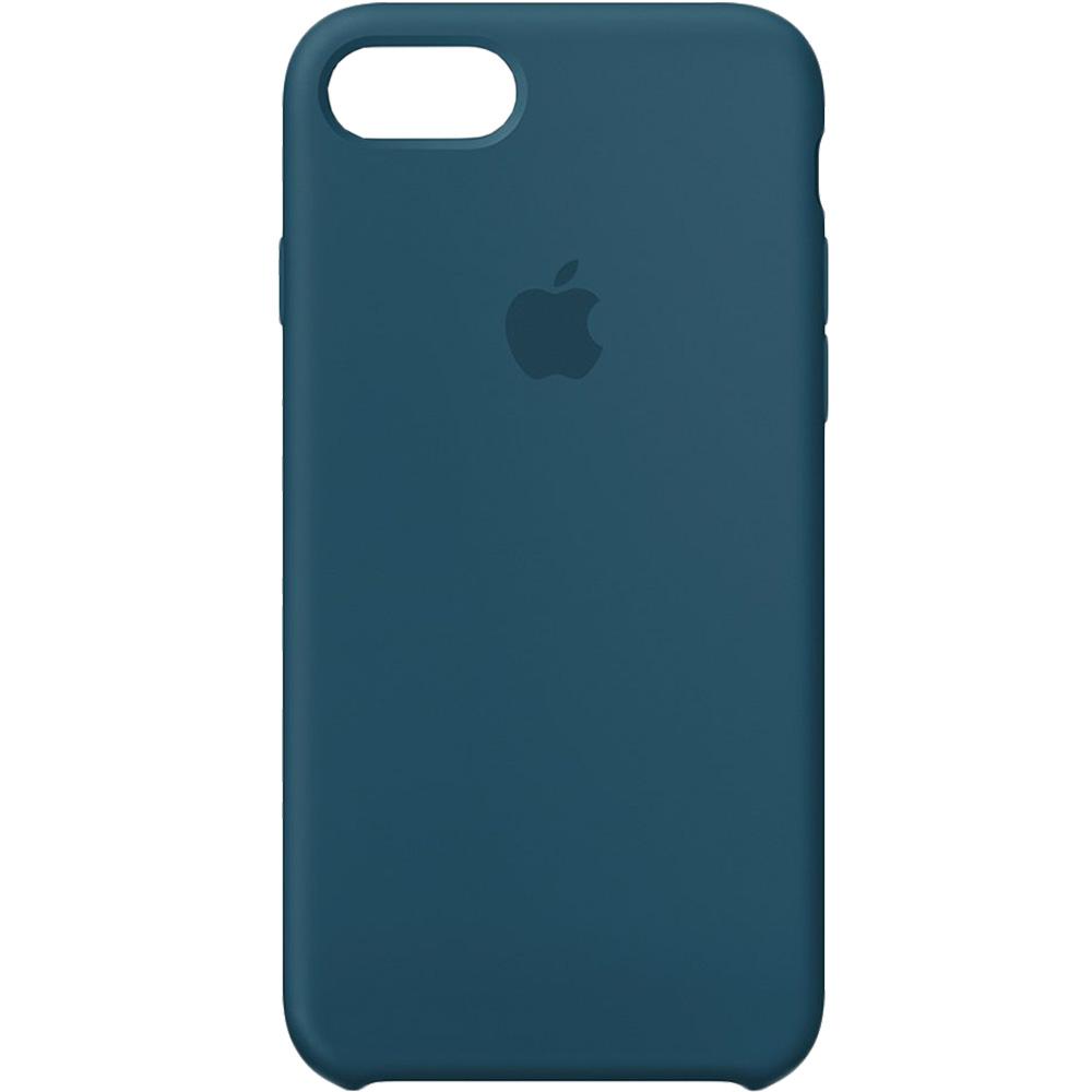 Husa originala din Silicon Cosmos Albastru pentru APPLE iPhone 7 si iPhone 8