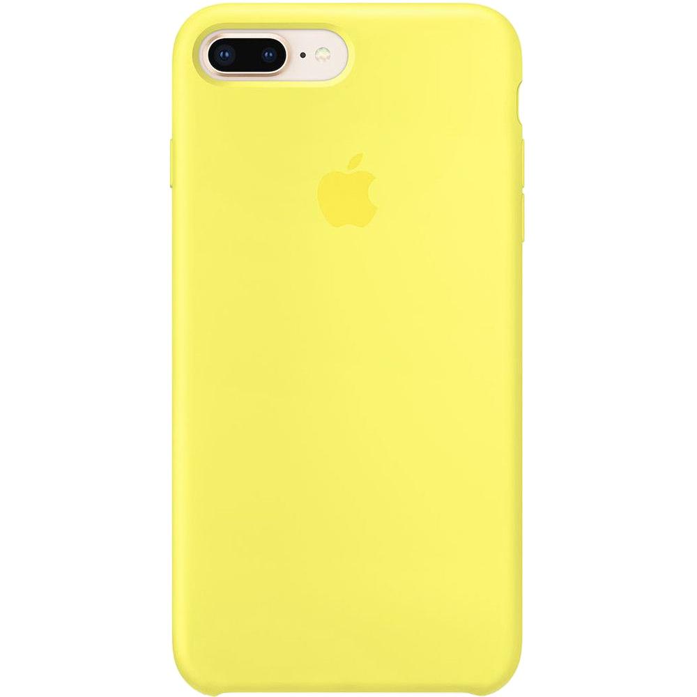 Husa originala din Silicon Galben Flash pentru APPLE iPhone 8 Plus