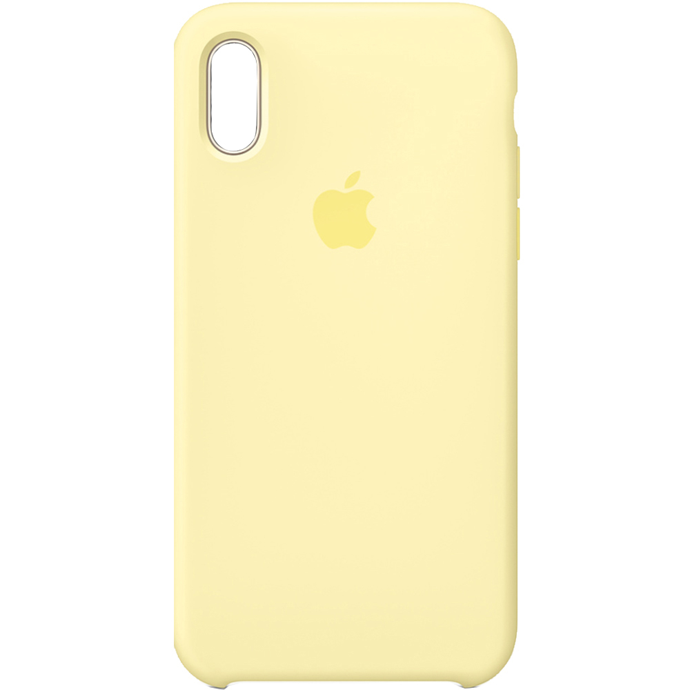 Husa Capac Spate Silicon Galben APPLE iPhone XR