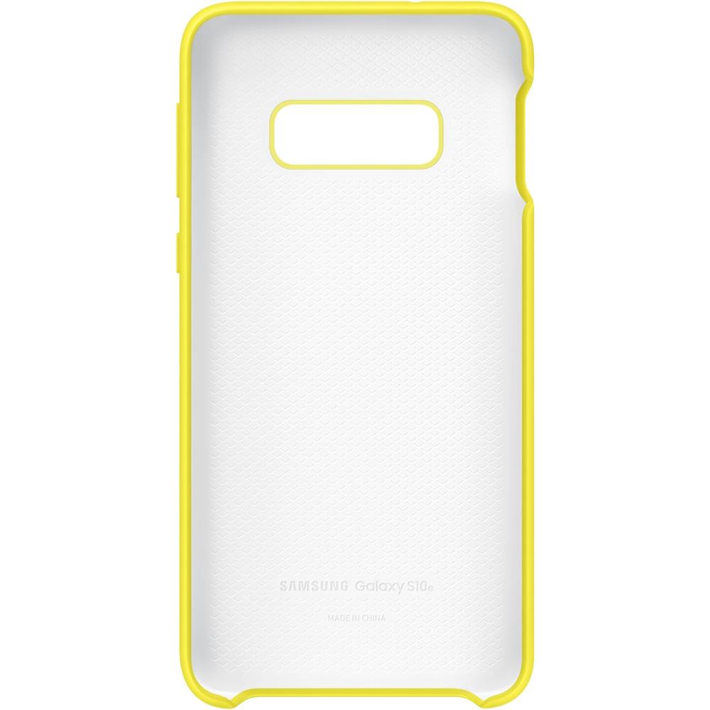 Husa Capac Spate Silicon Galben SAMSUNG Galaxy S10E