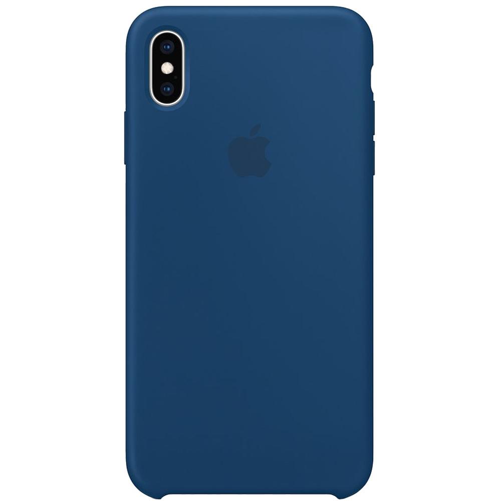 Husa Capac Spate Silicon Horizon Albastru APPLE iPhone Xs