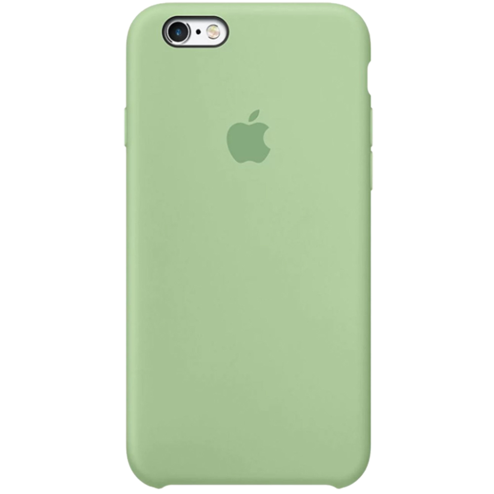 Husa originala din Silicon Verde Mint pentru APPLE iPhone 6s Plus