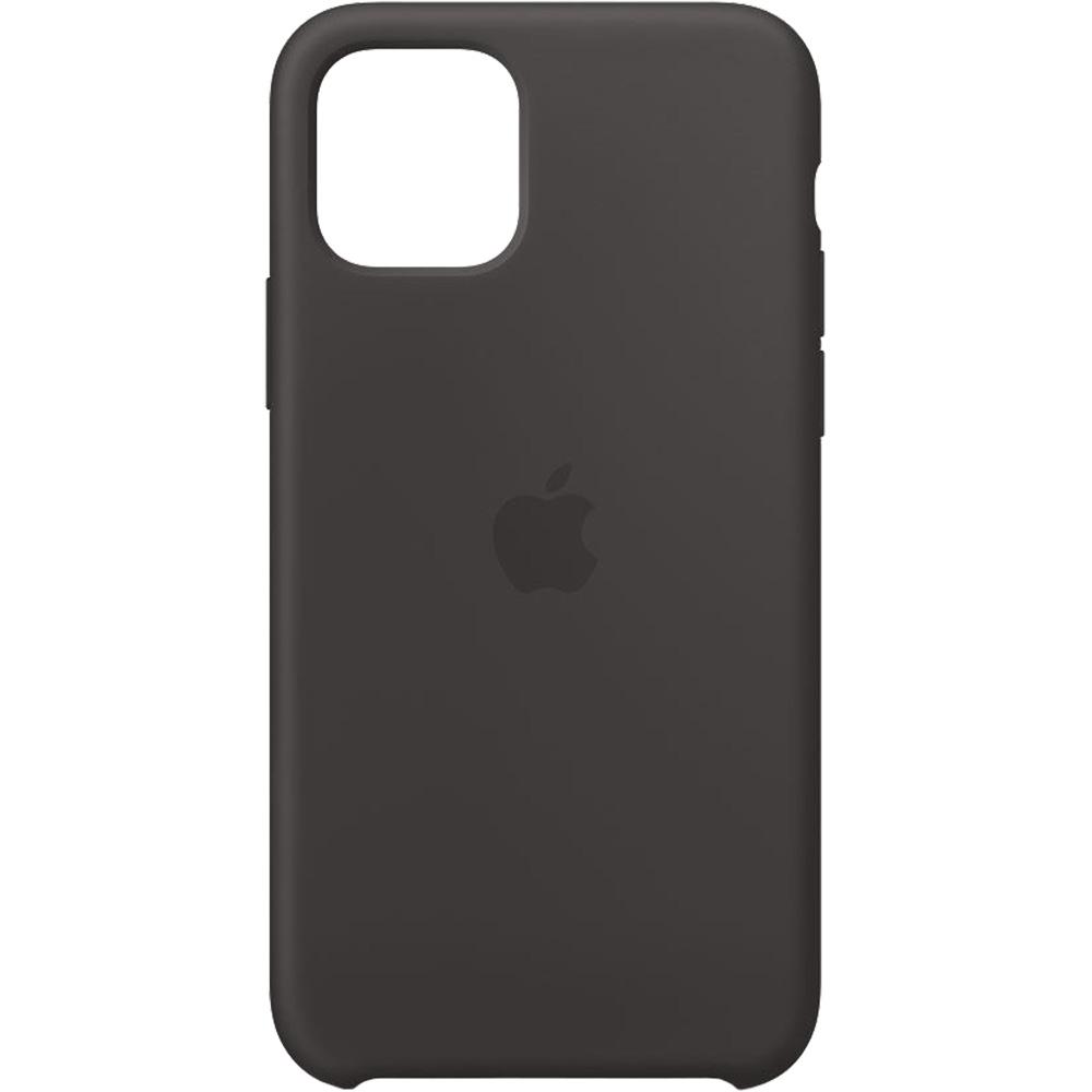 Husa originala din Silicon Negru pentru APPLE iPhone 11 Pro