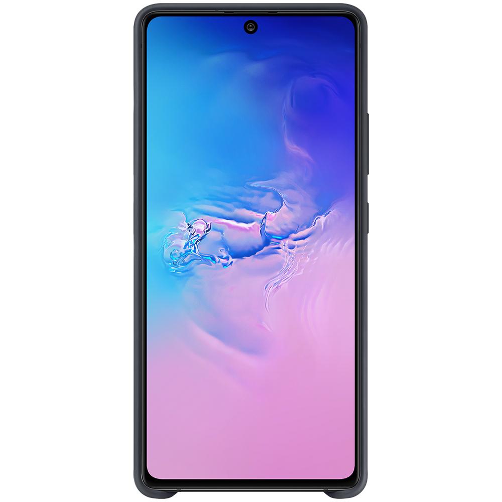 Husa Capac Spate Silicon Negru SAMSUNG Galaxy S10 Lite