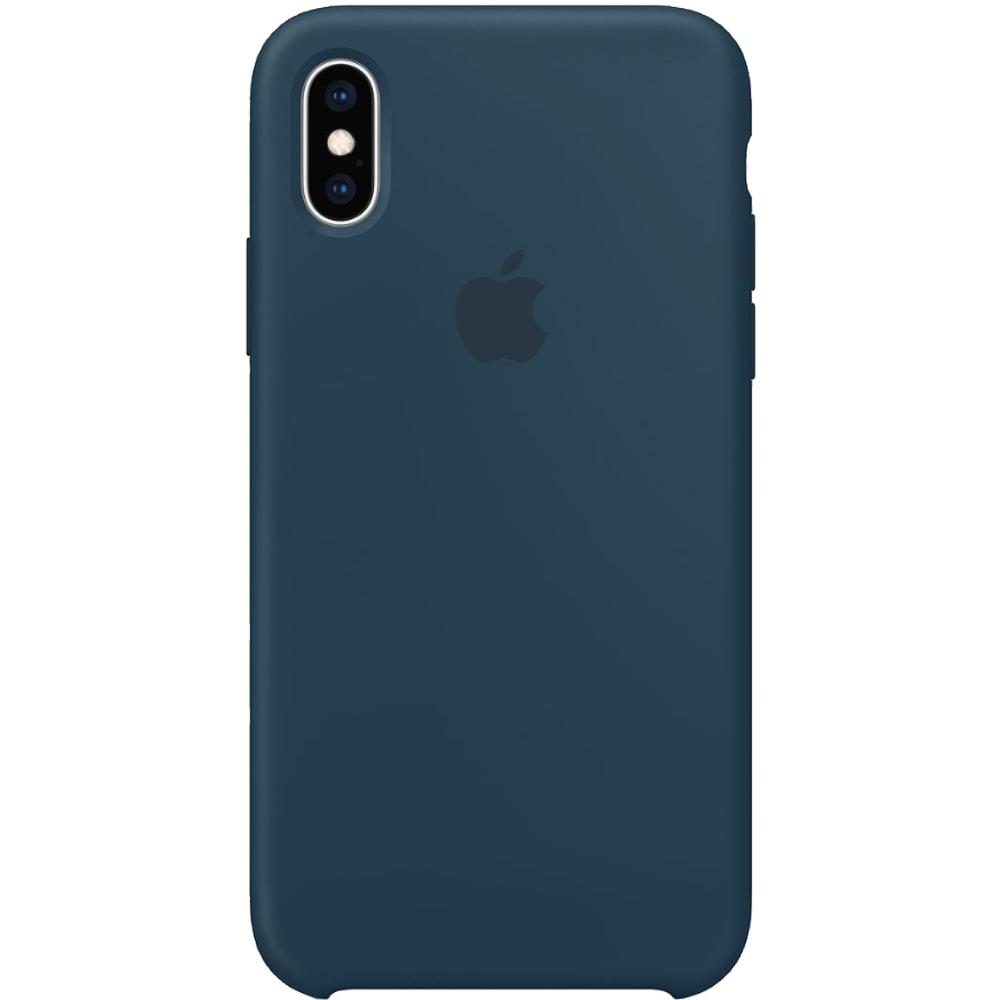 Husa originala din Silicon Verde Pacific pentru APPLE iPhone Xs Max