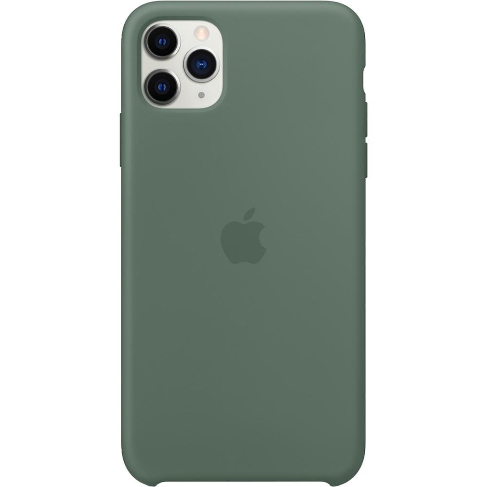 Husa originala din Silicon Pine Verde pentru APPLE iPhone 11 Pro Max