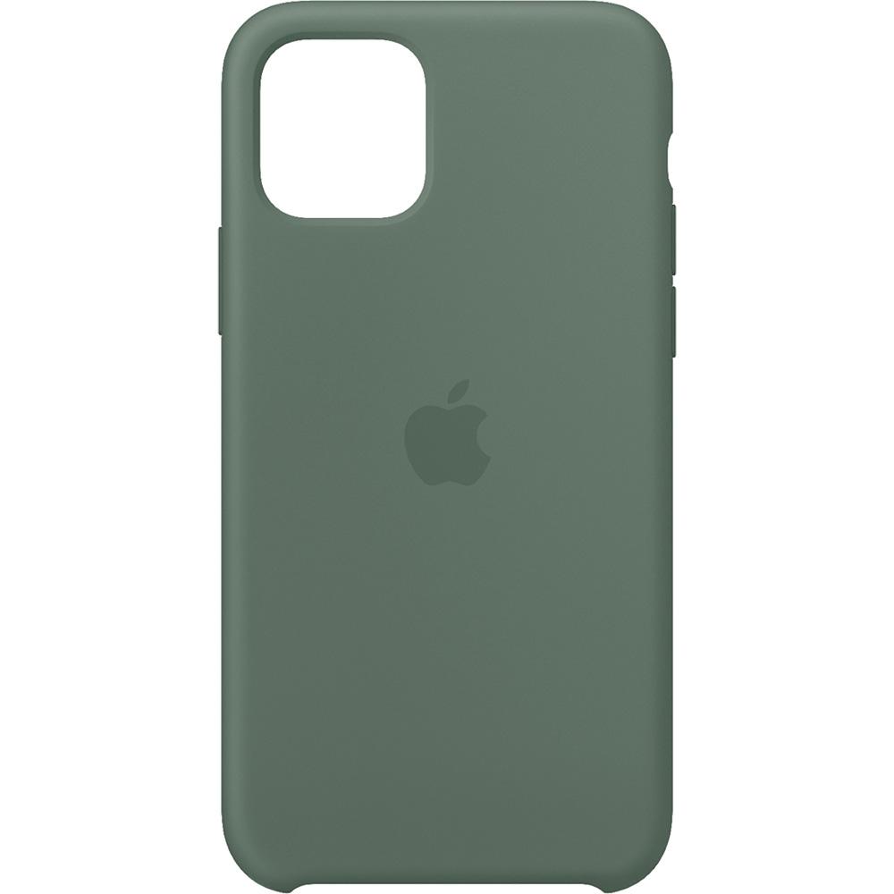 Husa originala din Silicon Pine Verde pentru APPLE iPhone 11 Pro