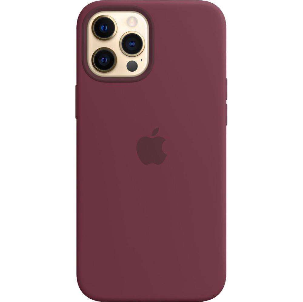 Husa Capac Spate Silicon Plum Violet APPLE Iphone 12 Pro Max