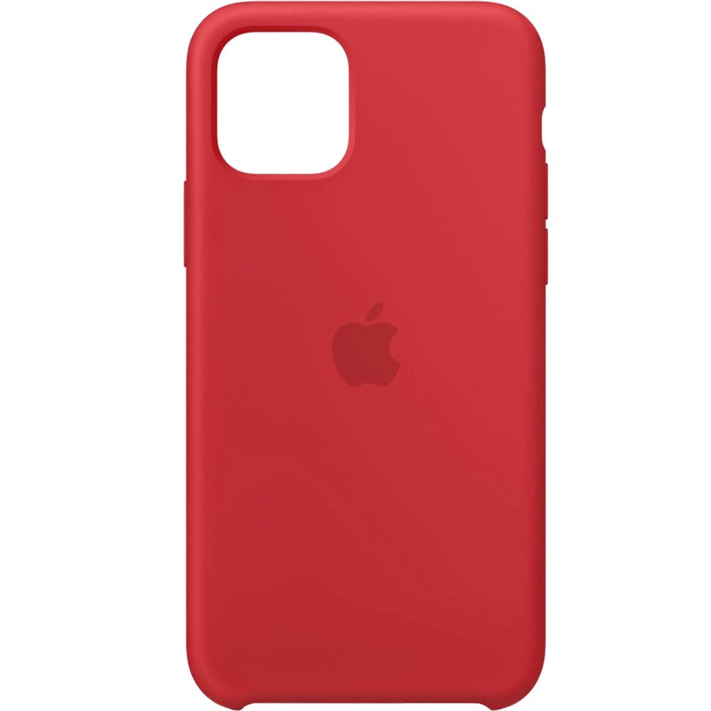 Husa originala din Silicon Rosu pentru APPLE iPhone 11 Pro