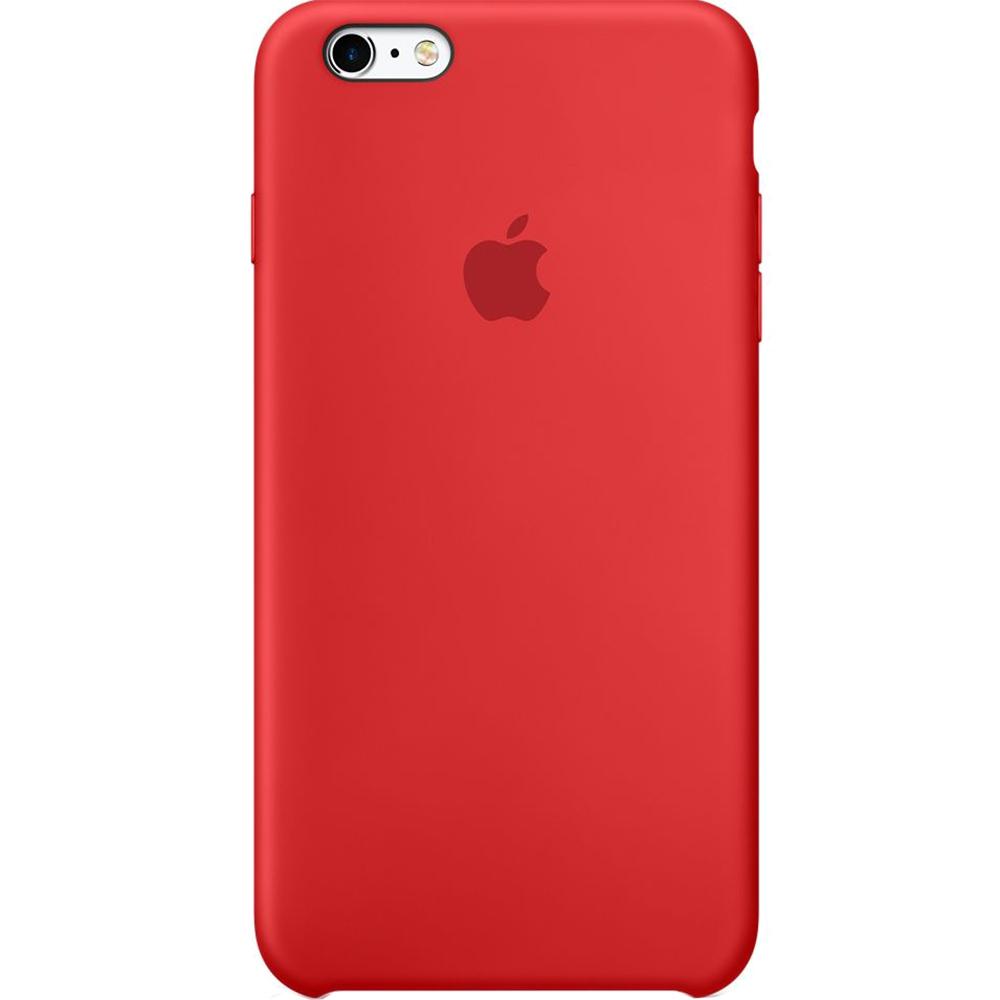 Husa Capac Spate Silicon Rosu APPLE iPhone 6s Plus