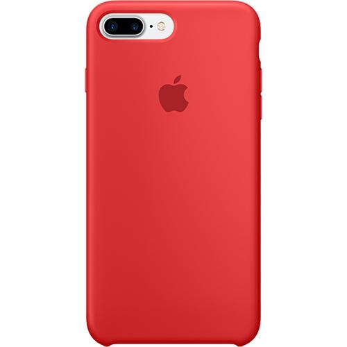 Husa Capac Spate Silicon Rosu Apple iPhone 7 Plus, iPhone 8 Plus