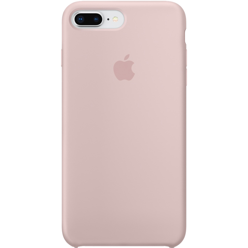 Husa Capac Spate Silicon Roz Apple iPhone 7 Plus, iPhone 8 Plus