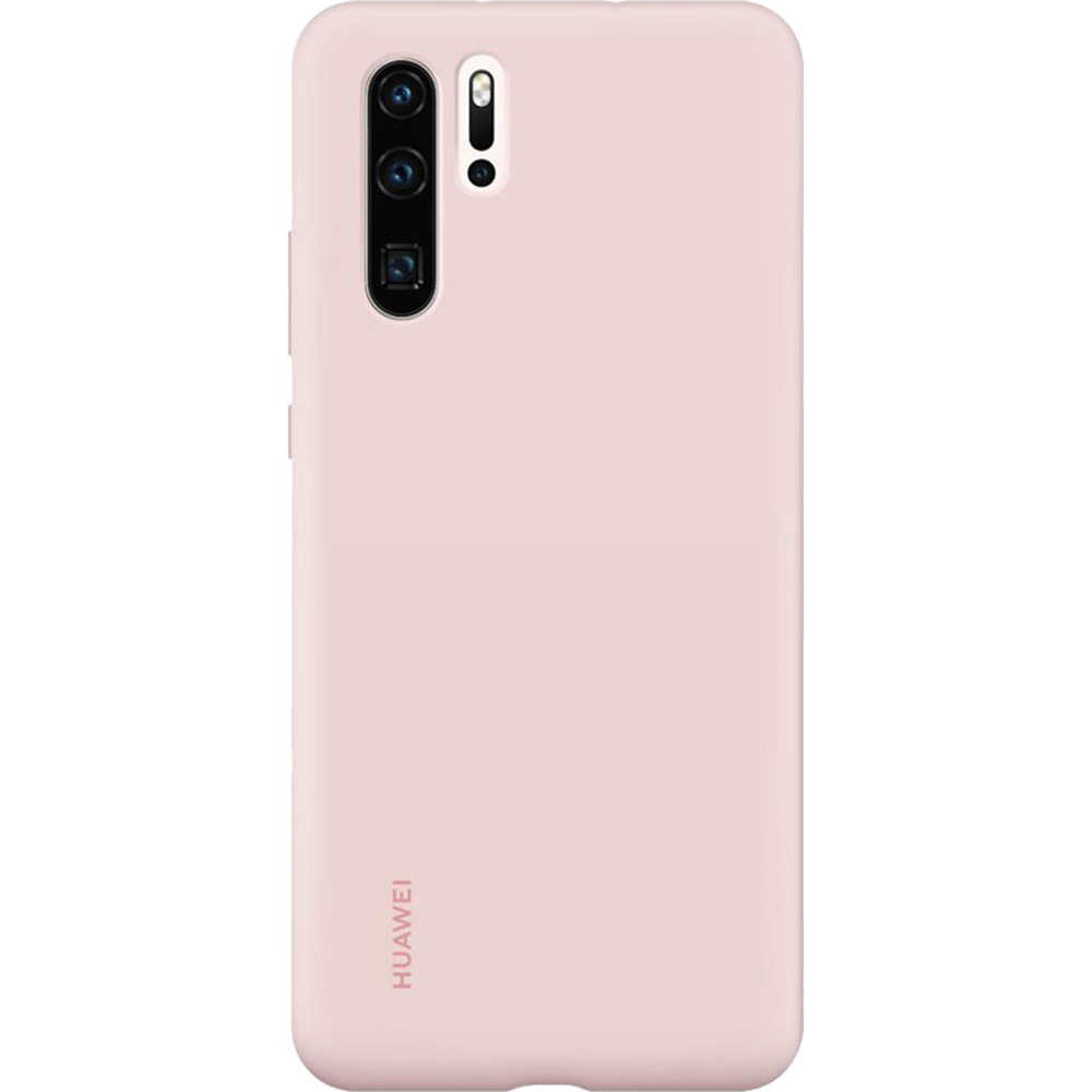 Husa Capac Spate Silicon Roz HUAWEI P30 Pro