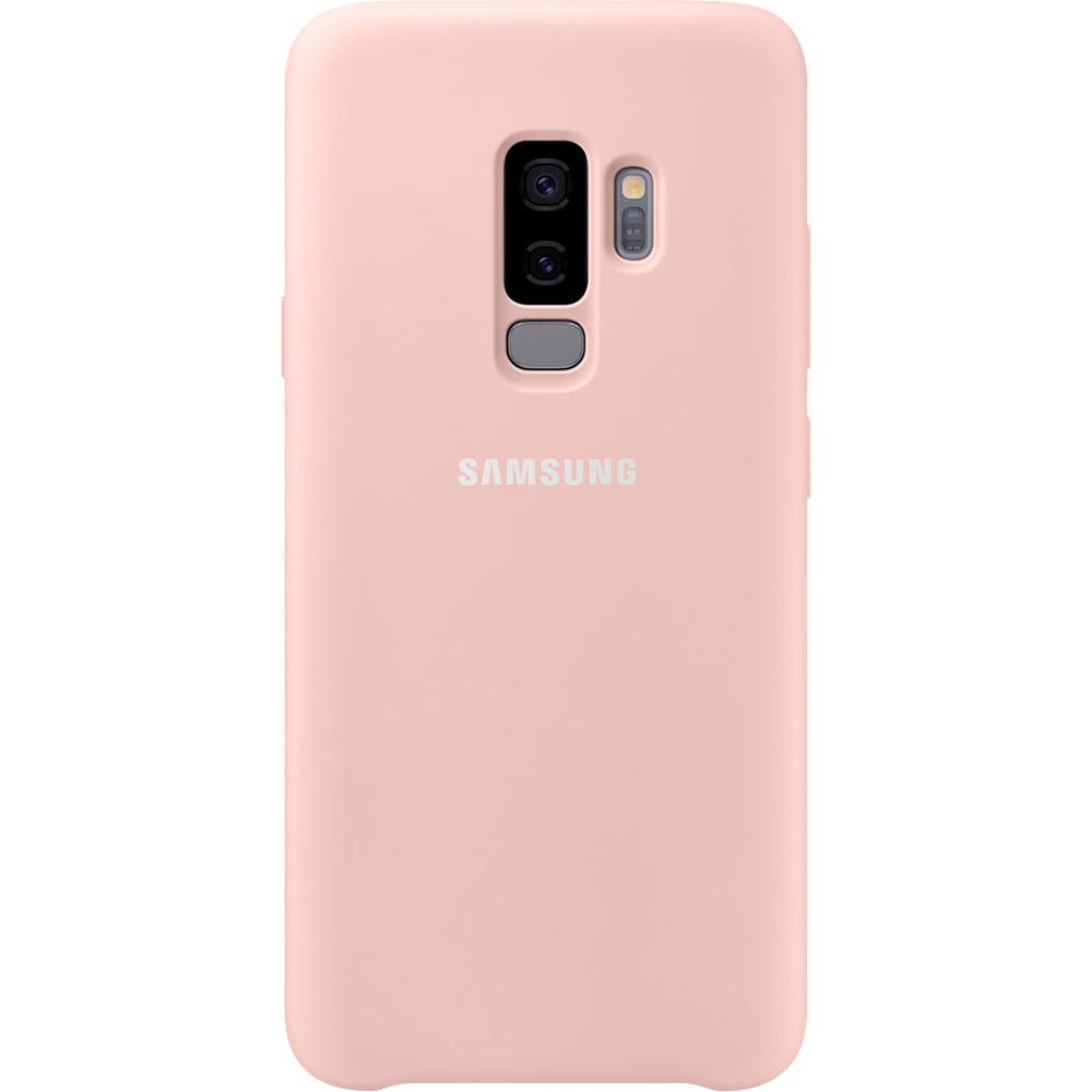 Husa Capac Spate Silicon Roz SAMSUNG Galaxy S9 Plus