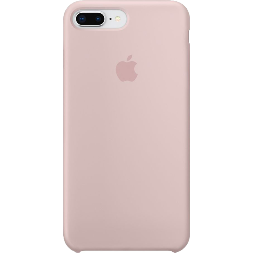 Husa Capac Spate Silicon Sand Roz APPLE iPhone 8 Plus