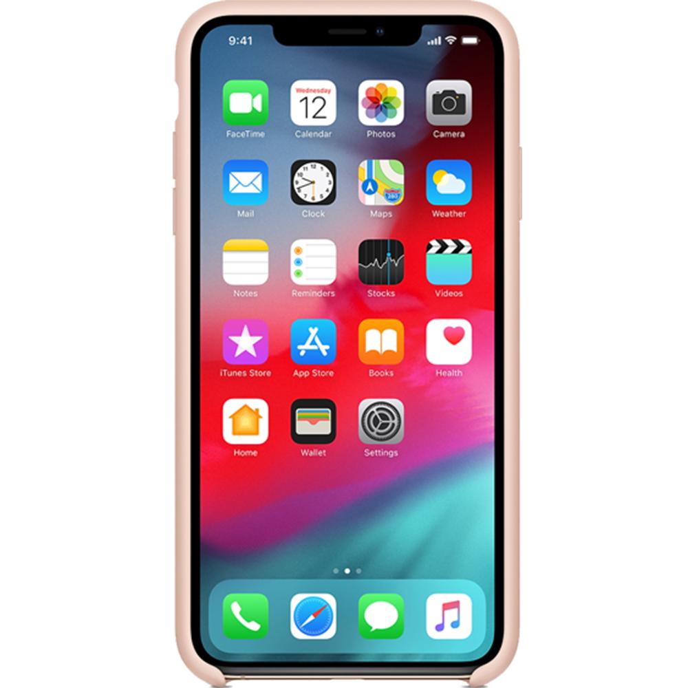 Husa Capac Spate Silicon Sand Roz APPLE iPhone X
