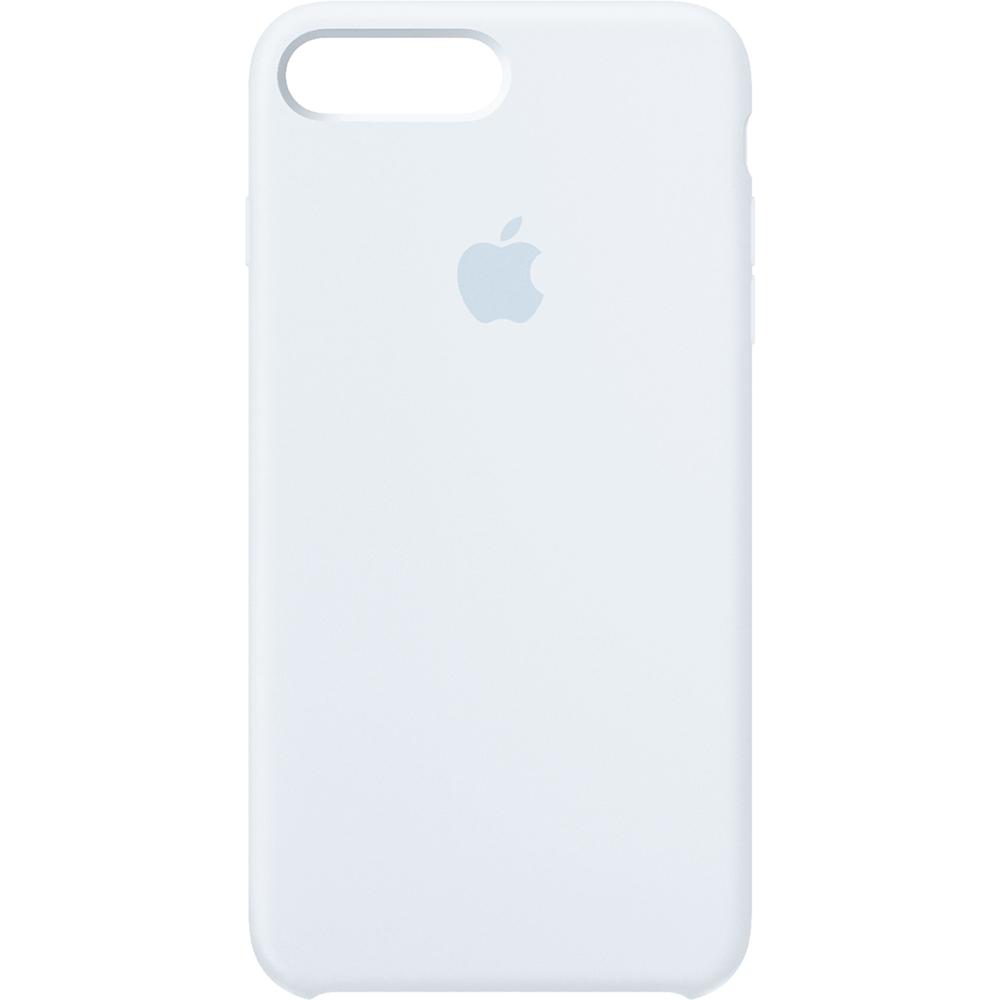 Husa originala din Silicon Sky Albastru pentru Apple iPhone 7 Plus si iPhone 8 Plus