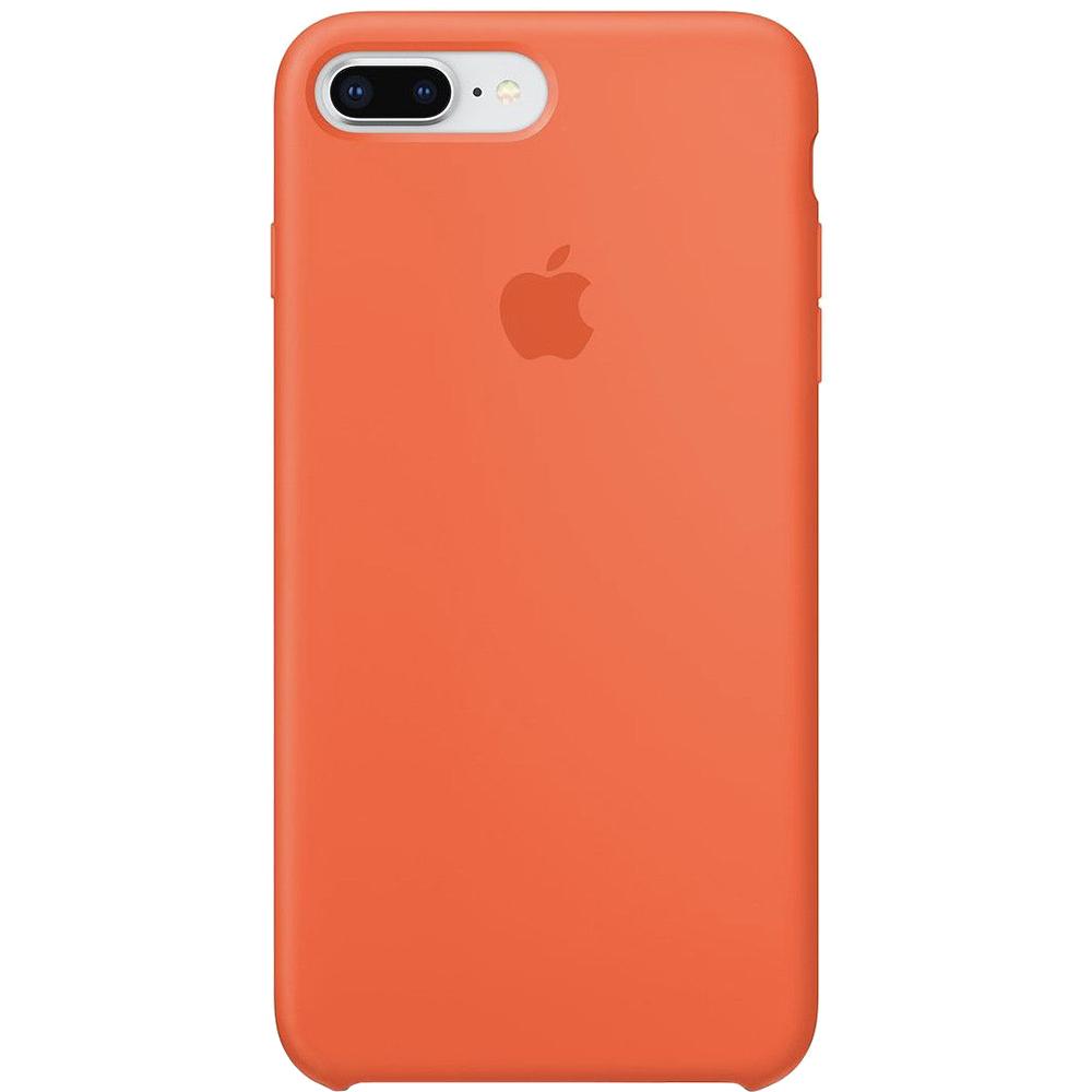 Husa Capac Spate Silicon Spicy Portocaliu APPLE iPhone 8 Plus