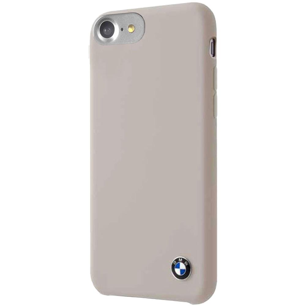 Husa Capac Spate Silicon Taupe Gri Apple iPhone 7, iPhone 8
