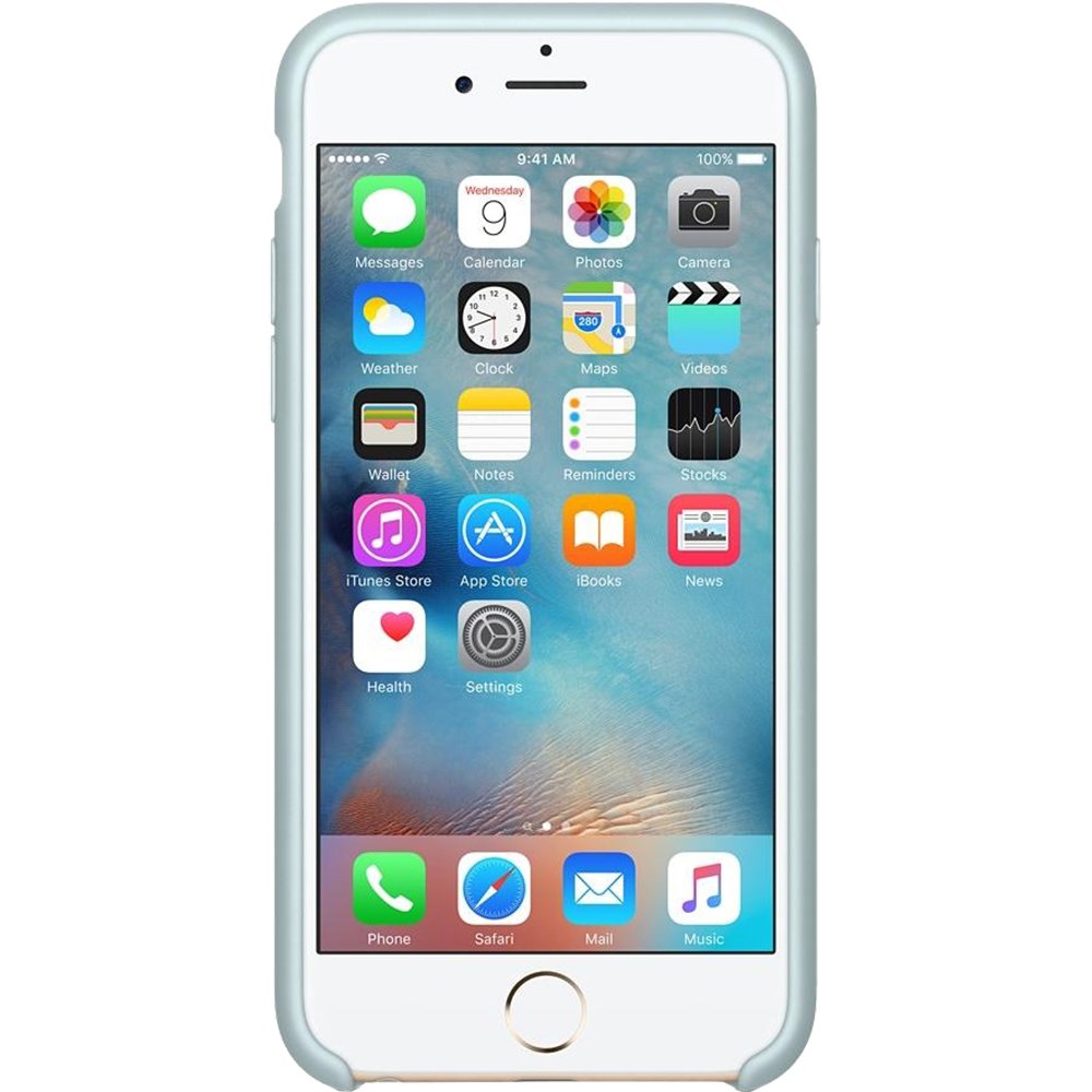 Husa originala din Silicon Turcoaz pentru APPLE iPhone 6s Plus