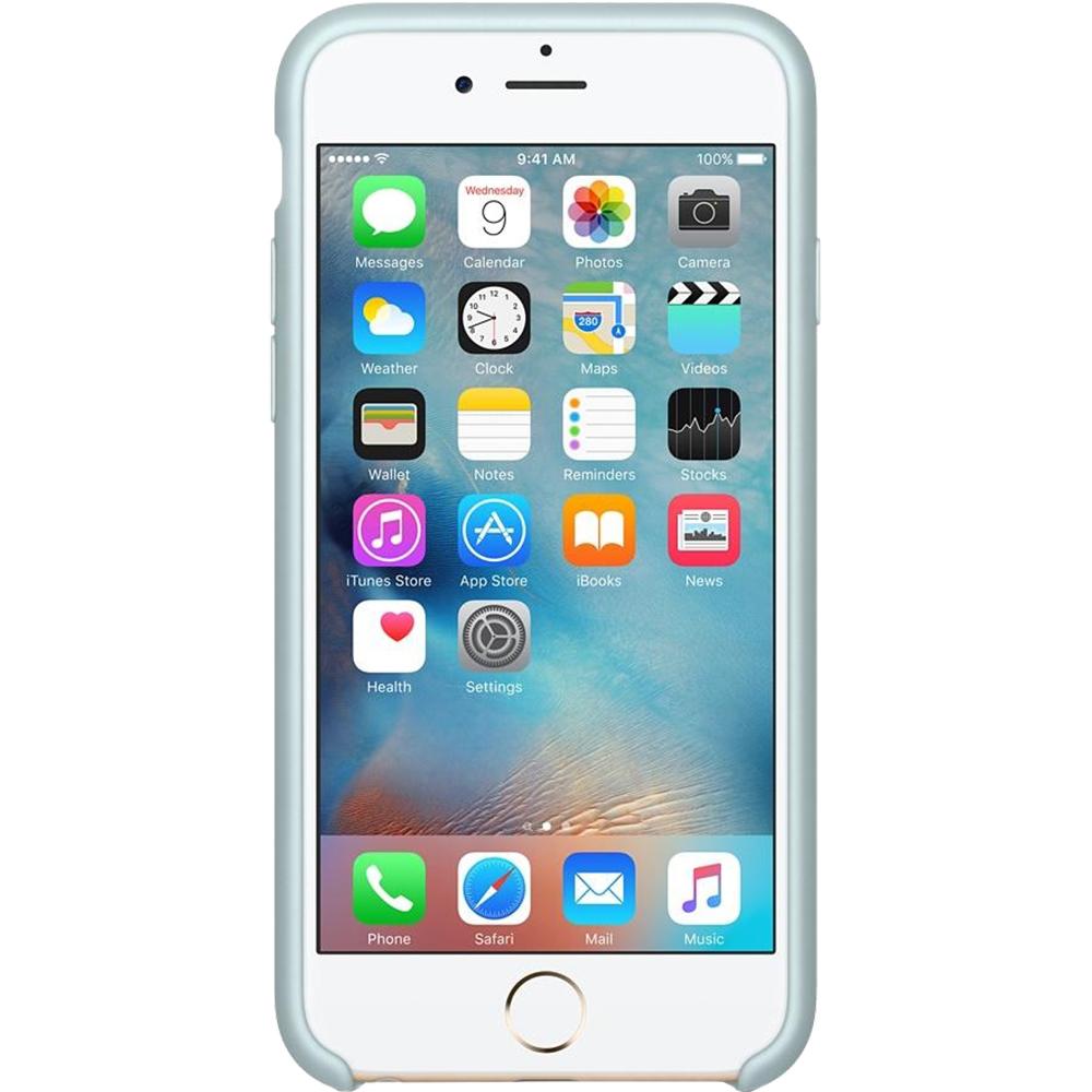 Husa originala din Silicon Turcoaz pentru Apple iPhone 6 si iPhone 6s