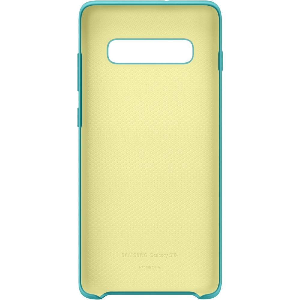 Husa Capac Spate Silicon Turcoaz SAMSUNG Galaxy S10 Plus