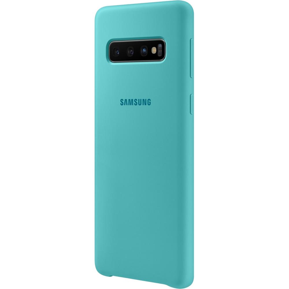 Husa Capac Spate Silicon Turcoaz SAMSUNG Galaxy S10