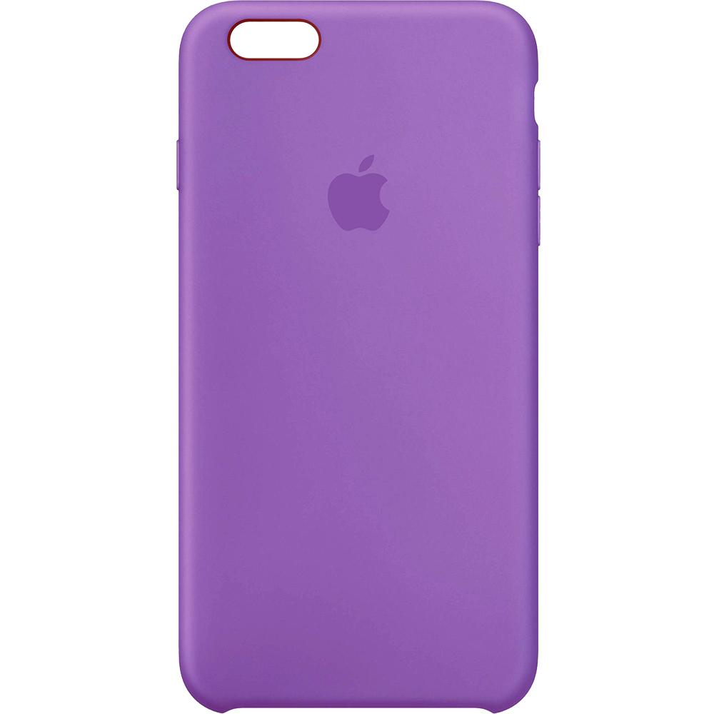 Husa Capac Spate Silicon Violet Violet APPLE iPhone 6s Plus