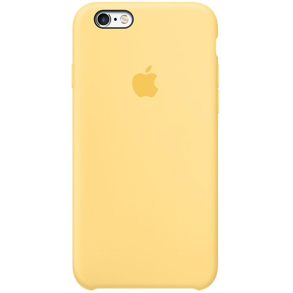Husa originala din Silicon Galben Yellow pentru APPLE iPhone 6s Plus