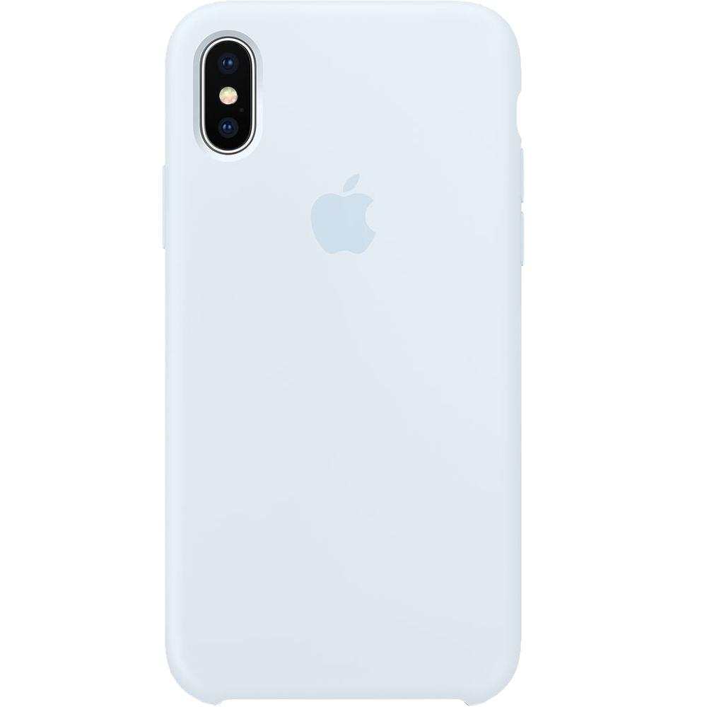Husa originala Apple din silicon Sky Albastru pentru iPhone X