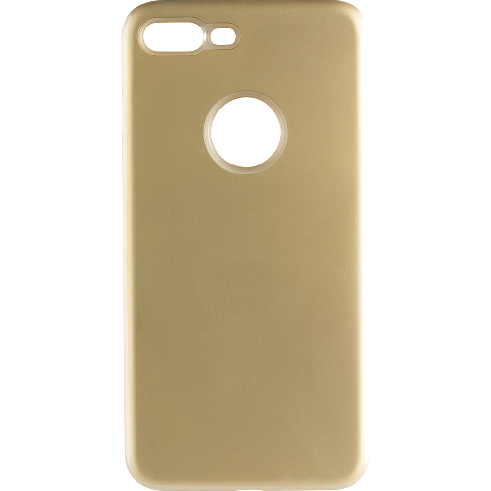 Husa Capac Spate Slim Soft 2 In 1 Auriu Apple iPhone 7 Plus, iPhone 8 Plus
