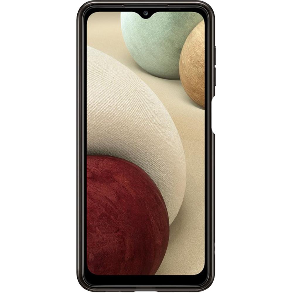 Husa Capac Spate Soft Clear Cover Negru SAMSUNG Galaxy A12