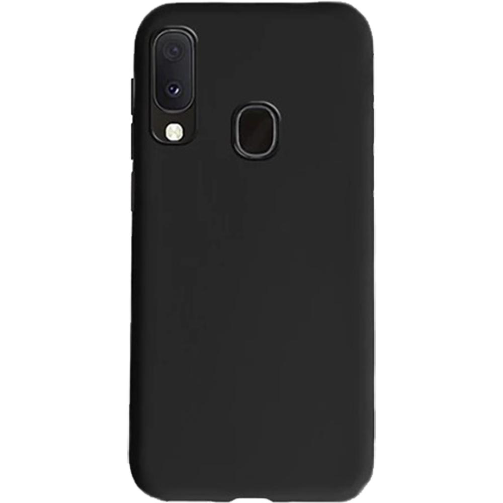Husa Capac Spate Soft Negru SAMSUNG Galaxy A20e