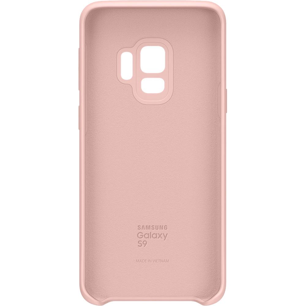 Husa Capac Spate Soft Touch Roz SAMSUNG Galaxy S9