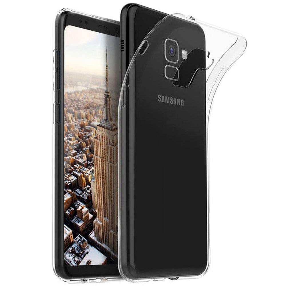 Husa Capac Spate Soft Transparent SAMSUNG Galaxy A8 (2018)