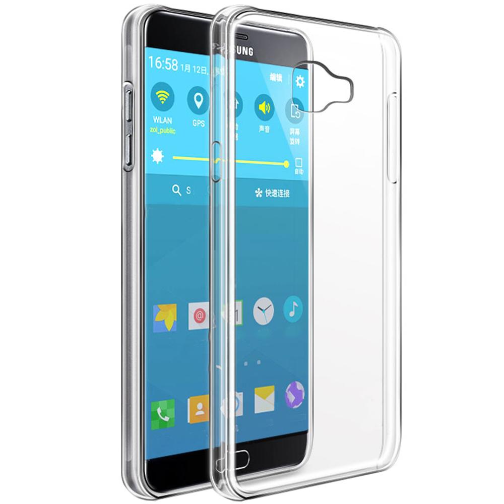 Husa Capac Spate Soft Transparent SAMSUNG Galaxy C7