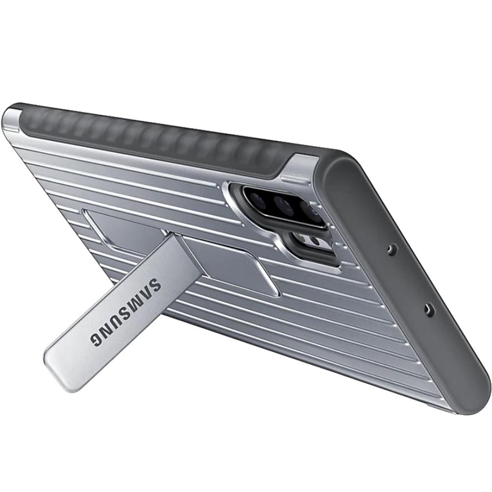 Husa Capac Spate Stand Argintiu SAMSUNG Note 10 Plus