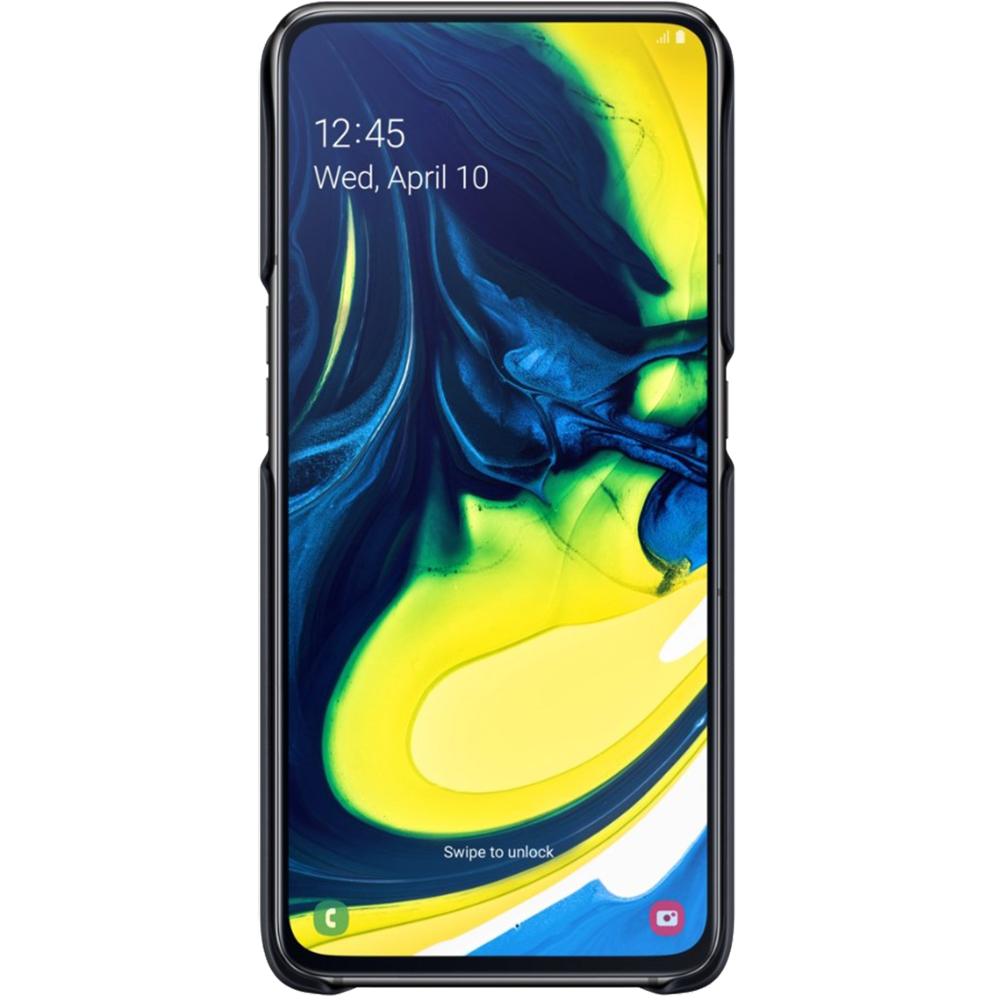 Husa Capac Spate Stand Negru SAMSUNG Galaxy A80 (2019)