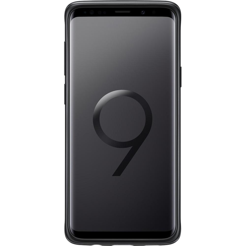 Husa Capac Spate Standing Negru SAMSUNG Galaxy S9 Plus