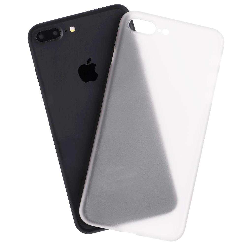 Husa Capac Spate Slim Alb Apple iPhone 7 Plus, iPhone 8 Plus