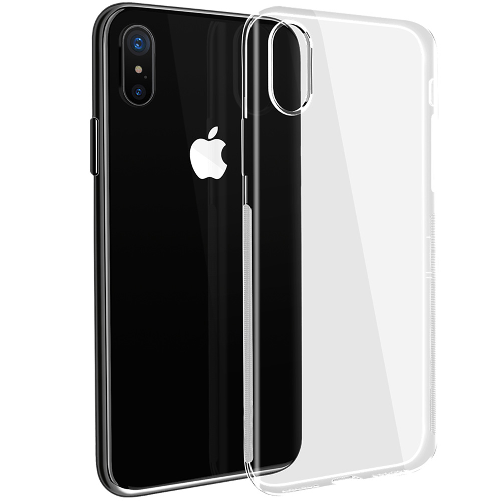 Husa Capac Spate Transparent APPLE iPhone X