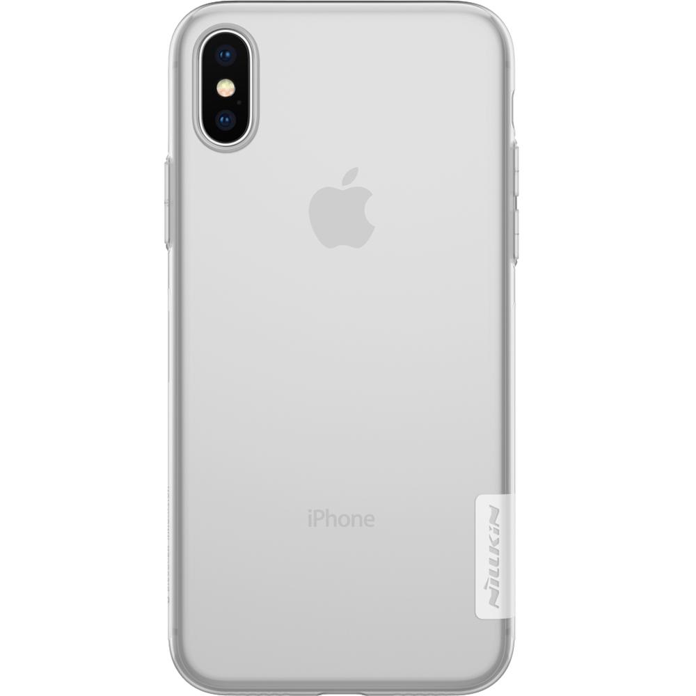 Husa Capac Spate Ultra Slim Transparent APPLE iPhone X, iPhone Xs