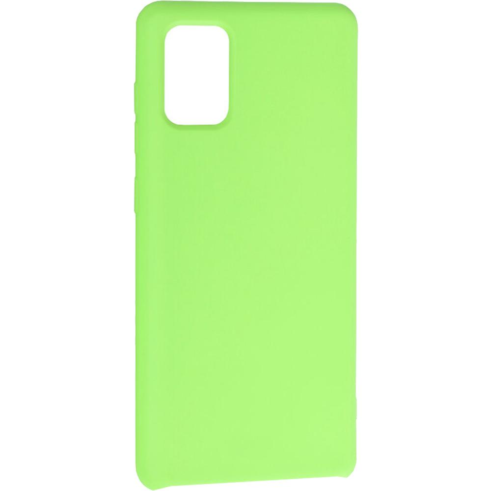 Husa Capac Spate Vennus Silicon Lite Light Verde SAMSUNG Galaxy A71