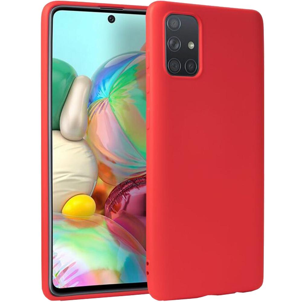 Husa Capac Spate Vennus Silicon Lite Rosu SAMSUNG Galaxy A71