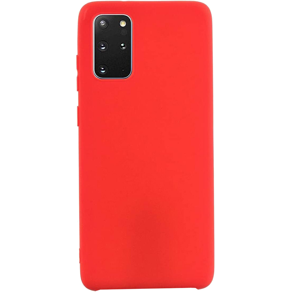 Husa Capac Spate Vennus Silicon Lite Rosu SAMSUNG Galaxy S20 Plus