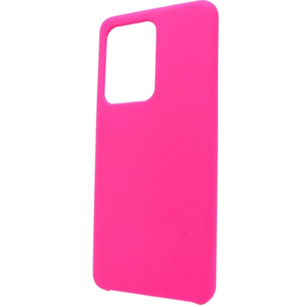 Husa Capac Spate Vennus Silicon Lite Roz SAMSUNG Galaxy S20 Plus